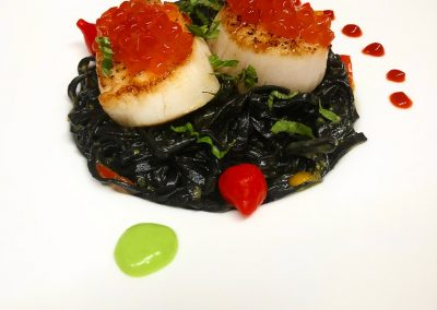Scallops-and-roe